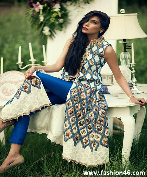 latest fashion news, latest fashion trends, latest dresses, latest womens fashion, latest womens clothing, women dresses 2014, shalwar kameez for women, long shirts for girls 2014, latest luxury prêt dresses, prêt dresses for women, prêt dresses for women 2014, sana salman latest collection, sana salman prêt dresses 2014, sana salman fashion, sana salman latest dresses