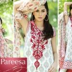 Latest Pareesa Wear Dresses 2014 by Chen One for Eid ul Azha-1