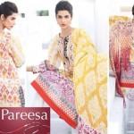 Latest Pareesa Wear Dresses 2014 by Chen One for Eid ul Azha-3