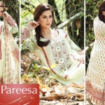 Latest Pareesa Wear Dresses 2014 by Chen One for Eid ul Azha-5