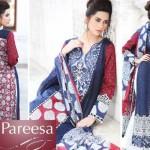 Latest Pareesa Wear Dresses 2014 by Chen One for Eid ul Azha-6