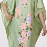 Latest Trend Gallery 2014 Extended Kaftan for Ladies-5