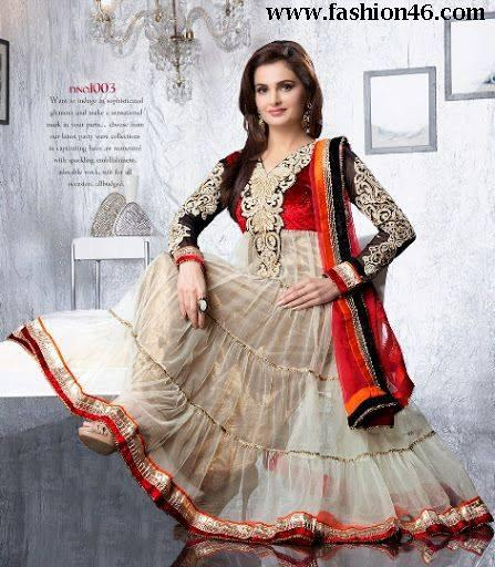 New Saheli Couture Bollywood Frocks Collection 2014 New Saheli Couture Bollywood Frocks Collection 2014