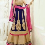 Contemporary Style Indian Designer Lehenga Choli Wedding Dresses-6
