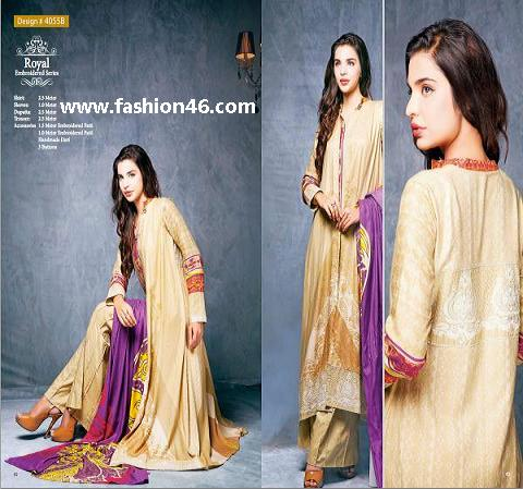 Fall Dresses 2014 For Women by House Of Ittehad Fall Dresses 2014 for Women by House of Ittehad