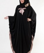 Latest Embroidered Hijabs 2014 For Women-6