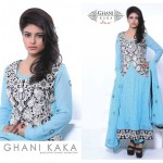 Latest Ghani Kaka Chiffon Collection 2014 for winter-8
