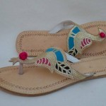 Latest Kolhapuri Footwear 2014 For Women-1