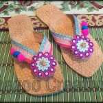 Latest Kolhapuri Footwear 2014 For Women-2