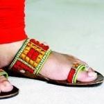 Latest Kolhapuri Footwear 2014 For Women-3