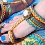 Latest Kolhapuri Footwear 2014 For Women-4