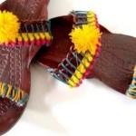 Latest Kolhapuri Footwear 2014 For Women-5