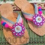 Latest Kolhapuri Footwear 2014 For Women-9