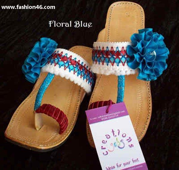 Unze New Flat Sandals Collection 2013 for Ladies