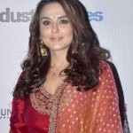 Preity Zinta Sabyasachi Outfit in MAMI 2014-2