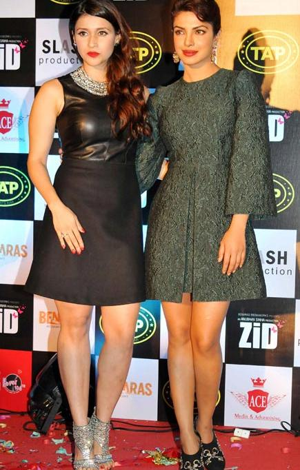 Does Priyanka prefer Mannara over Parineeti