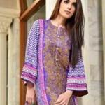 Latest Women Winter Dresses 2014 Volume 5 by Jubilee Cloth Mills-2