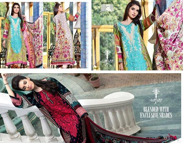 latest fashion news, latest fashion trends, latest dresses, latest clothing, latest women dresses, latest winter dresses for women, winter dresses for girls, girls clothing fashion, women clothing fashion, stylish dresses for women, new volume 5 by jubilee cloth mills, winter fashion for women, winter dresses 2014, Latest Women Winter Dresses 2014