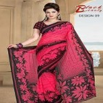 New Beautiful Party Wear Saree Collection for Summer-2