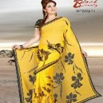 New Beautiful Party Wear Saree Collection for Summer-6