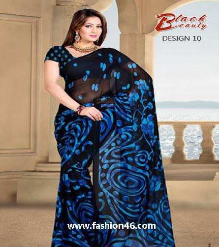 New Beautiful Party Wear Saree Collection for Summer