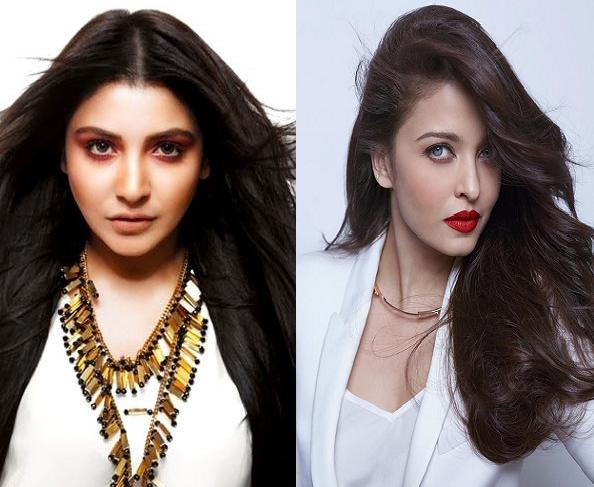 Anushka Sharma trying to compete with Aishwarya Rai Bachchan Anushka Sharma trying to compete with Aishwarya Rai Bachchan
