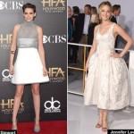 Jennifer Lawrence, Kristin Stewart and more Stylish Dressed Celebrities