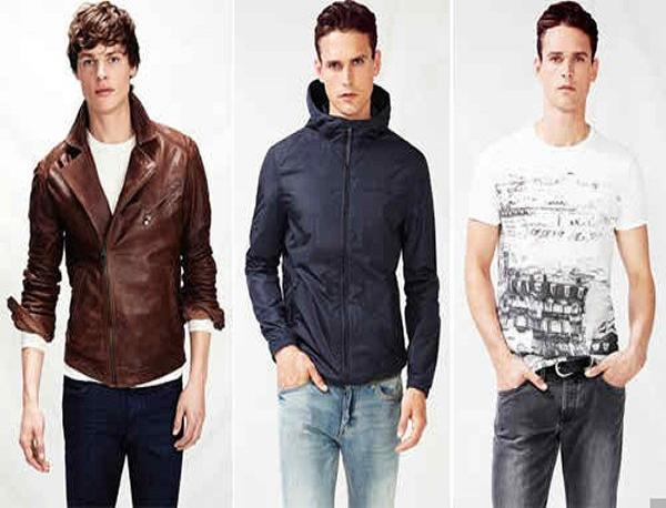 latest fashion news, latest fashion trends, latest winter trends, latest winter fashion for men, winter fashion for boys, winter fashion 2014, men dresses collection, double breasted blazers, patterned jackets, printed pants, colored blocked shirts, leather jackets 2014, bomber jackets for men
