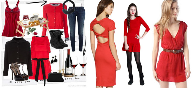 Valentine Day woman fashion