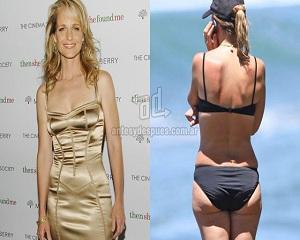 Helen Hunt – Celebrities with Cellulite