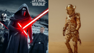 star wars the force awakens, crimson peak, the good dinosaur, the hateful eight, the martian