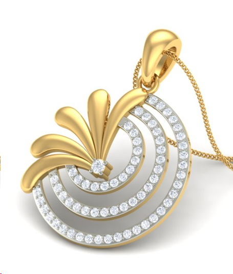 Dazzling Diamond Pendants on Your Delicate Neckline
