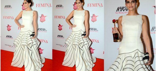 red carpet trends, bollywood celebrities, celebrity's gowns, surveen, gauri and nainika gown, gauahar khan, huma, deepika padukone, sonam kapoor